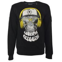 "Men's Sweatshirt - ""dj skull"""