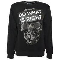 "Men's Sweatshirt - ""do what is right"""