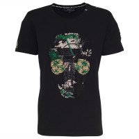 men - t-shirt - skull hawaii