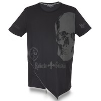 T-SHIRT BLACK DIAMOND SKULL MEN