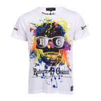 T-SHIRT SKULL GRAFFITI