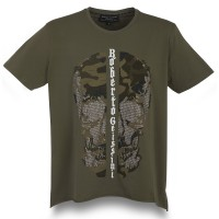 T-SHIRT DARK CAMOUSKULL MEN