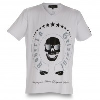 T-SHIRT SKULL SUNGLASSES NEW MEN