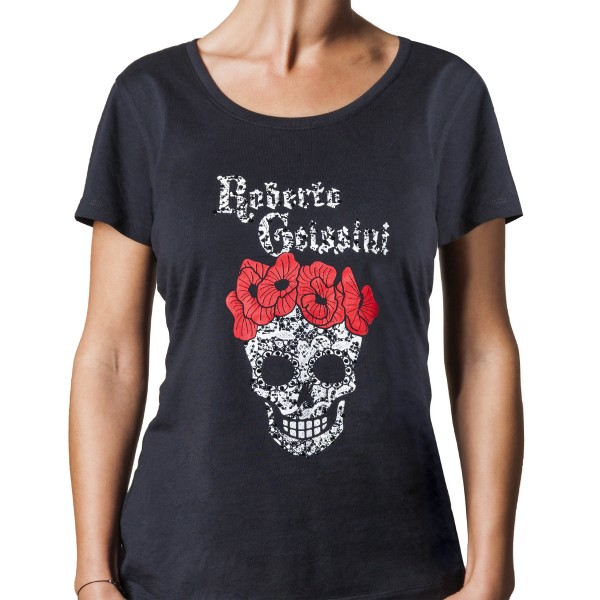T-Shirt women with skull rg lucy