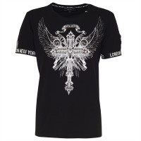 men t-shirt eagle cross
