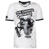 men t-shirt - skull change