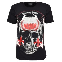 men skull t-shirt warrior